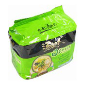 Instant Noodles Multipack (Artificial Pork Flavour Japanese Style 5 In 1) (湯達人拉麵 (日式豚骨))