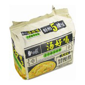 Instant Noodles Multipack (Artificial Chicken Soup Flavour) (白象老雞湯麵)
