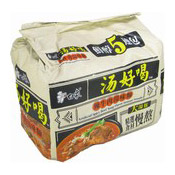 Instant Noodles Multipack (Artificial Spicy Beef Soup Flavour) (白象香辣牛肉湯麵)