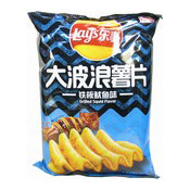 Big Wave Potato Chips Crisps (Grilled Squid Flavour) (樂事薯片 (鐵板魷魚味))