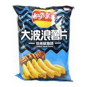 Big Wave Potato Chips Crisps (Grilled Squid Flavour) (樂事薯片 (鐵板魷魚味))