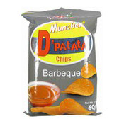 Muncher D'Patata Chips (Barbecue BBQ Crisps) (燒烤薯片)