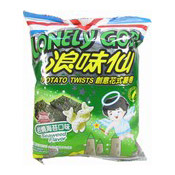 Lonely God Potato Twists (Seaweed Flavour) (浪味仙薯卷 (海苔味))