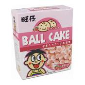 Ball Cake (Strawberry) (旺仔草莓小饅頭)