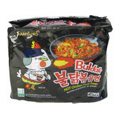 Hot Chicken Ramen Buldak Instant Noodles Multipack (三養香辣雞味拉麵)