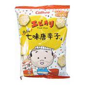 Prawn Chips (Ebikari Shichimi Flavour) (卡樂B七味蝦片)