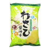 Potato Chips (Wasabi Shoyu Flavour Crisps) (卡樂B芥辣鮮醬汁味薯片)