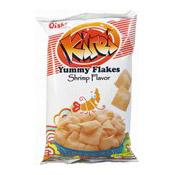 Kirei Shrimp Flavour Flakes (Prawn Crackers) (上好佳鮮蝦片)
