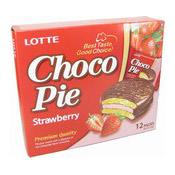 Choco Pie (Strawberry) (草莓朱古力批)