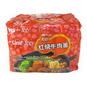Instant Noodles Multipack (Roasted Beef) (統一紅燒牛肉麵)