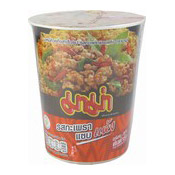 Instant Cup Noodles (Spicy Basil Stir Fried Flavour) (媽媽泰式辣炒杯麵)