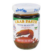 Crab Paste With Bean Oil (珀寬蟹豆油醬)