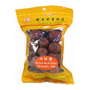 Dried Big Red Dates (Jujube) (東亞紅棗)