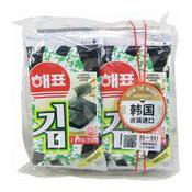 Seasoned Laver (Seaweed Snack) (韓國即食紫菜)