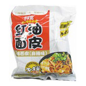 Instant Sichuan Broad Noodles (Spicy Mala Flavour) (阿寬紅油麵皮 (麻辣))
