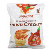 Prawn Crackers (Sriracha Flavoured) (泰國蝦片 (是拉差))
