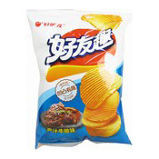 Potato Chips (Juicy Steak Flavour Crisps) (好友趣薯片 (牛排))