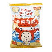 Ebikari Prawn Chips (Spicy Seafood Flavoured Prawn Chips) (卡樂B蝦條 (辛之味))