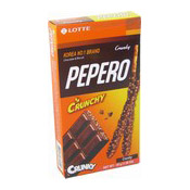 Pepero Crunky (樂天脆朱古力條)