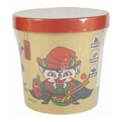 Instant Wide Noodles Cup (Chilli Oil) (紅油麵皮)