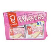 Mini Cream Wafers (Strawberry 8 Packs) (嘉頓迷你威化 (草莓))