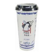 White Rabbit Milk Tea Drink (Red Bean) (大白兔紅豆味奶茶)