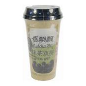 Boba Tea (Matcha Mix) (香飄飄抹茶雙拼)