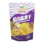Mixed Fruit & Vegetable Chips (Trai Cay Say) (綜合蔬菜條)