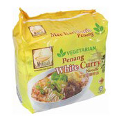 Instant Noodles Multipack Vegetarian Penang White Curry (檳城素白咖哩麵)