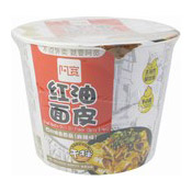 Sichuan Instant Broad Noodles Bowl (Chilli Oil Spicy & Hot) (阿寬鋪蓋碗麵 (麻辣))