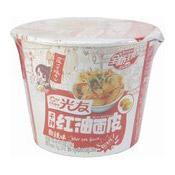 Spicy Wide Noodles (Sour Hot Flavour) (光友红油碗麵酸辣味)
