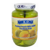Pickled Peach (Dao Ngam) (咸酸桃子)
