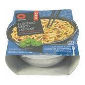 Cracked Black Pepper Ramen Noodle Bowl (黑胡椒拉麵)
