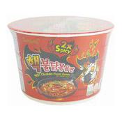 Hot Chicken Instant Bowl Noodles Ramen (2X Spicy) (三養超辣雞味湯碗麵)
