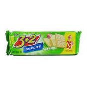 3+2 Cream Saltine Crackers (Chive) (蘇打夾心餅 (香蔥))