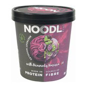 Beetroot Cup Noodles With Heavenly Harissa (紅菜頭杯麵)