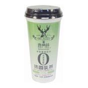 The Alley Matcha Milk Tea (鹿角巷抹香乳茶)