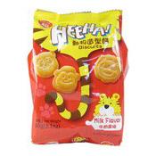 Heehaa! Biscuits (Milk) (九福牛奶動物餅)