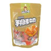 Dried Beancurd Dougan Vegetarian Beef (BBQ Barbecue) (好巴食手撕素牛肉 (燒烤))