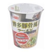 Instant Cup Ramen Noodles (Hakata Tonkotsu) (逸品豚骨風拉麵杯)