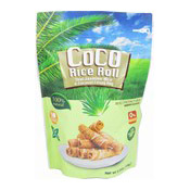 CoCo Rice Roll Thai Jasmine Rice & Coconut Crispy Roll (Pandan) (酥脆米卷 (香蘭))