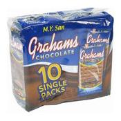 Grahams Wheat Crackers (Chocolate) (梳打餅 (朱古力))