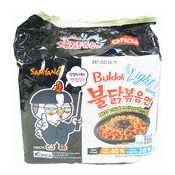 Hot Chicken Ramen Buldak Instant Noodles Multipack (Light) (三養香辣雞味微辣拉麵)