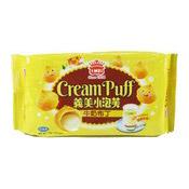 Cream Puffs (Milk Pudding) (義美牛奶布丁泡芙)