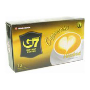 G7 Instant Coffee Cappuccino Hazelnut (12 Packets) (榛子泡沫咖啡)
