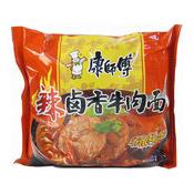 Instant Noodles (Spicy Braised Beef Flavour) (康師傅辣鹵香牛肉麵)