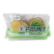 Vegetable Chip Cookies (香蔥薄餅)