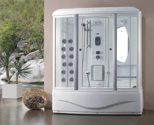 Sky Ocean luxury shower and steam room