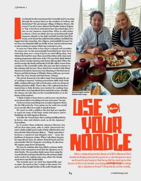 Crumbs Magazine October 2013