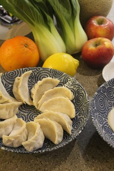Chinese dumplings - jiaozi